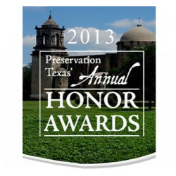 Preservation Texas Honor Award 2013