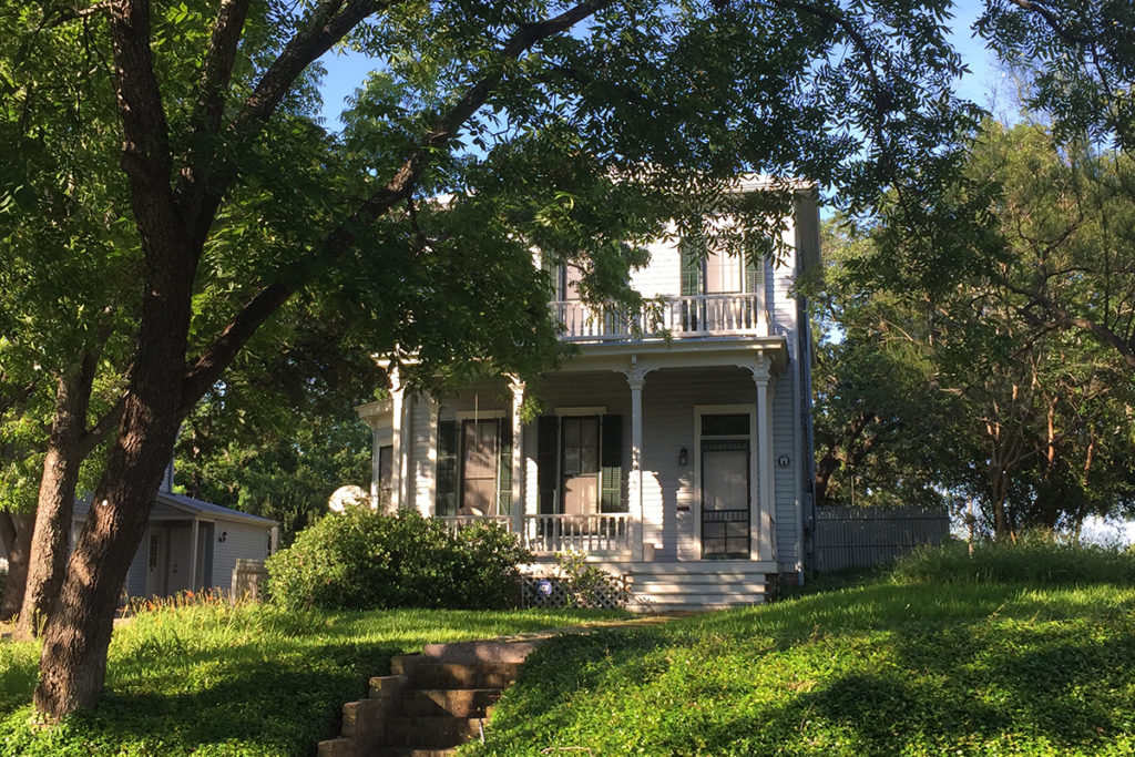 Ben Pillow House (Before)
