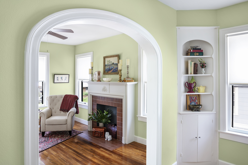 Living Room Arch