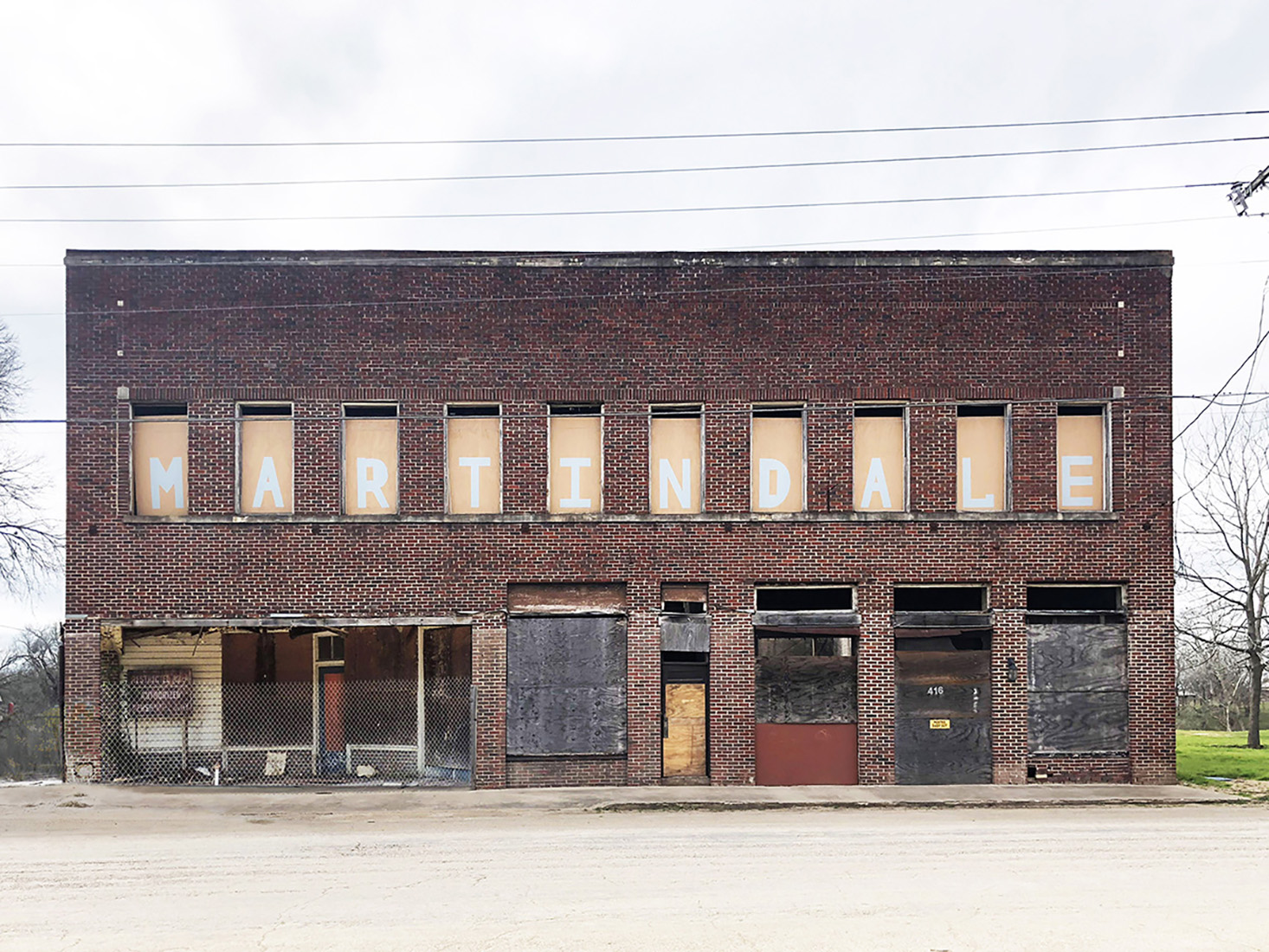 Martindale Motor Corporation Building